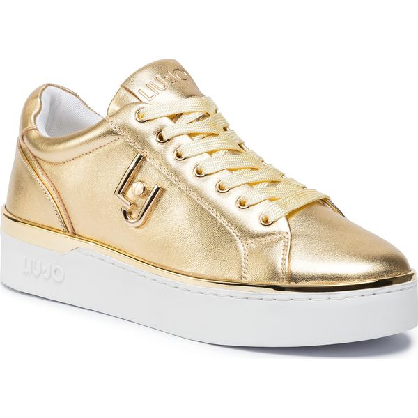 Sneakersy LIU JO Silvia 01 B69015 P0231 Light Gold 07014