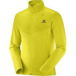 Salomon Bluza Męska Discovery Fz M Sulphur Spring Heath Xl. Żółte bluzy męskie Salomon. Za 345.00 zł.