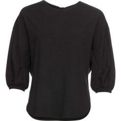 03f1449f6b342 Bluza z rękawami 3 4 bonprix czarny. Bluzki damskie marki bonprix. Za 74.99