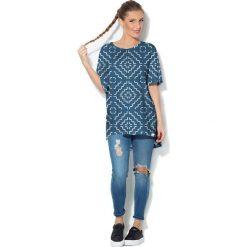 Colour Pleasure Koszulka CP-033  181 niebieska r. uniwersalny. Bluzki damskie marki Colour Pleasure. Za 76.57 zł.