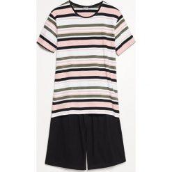 Piżama z szortami - Różowy. Czerwone bielizna dla chłopców Reserved. Za 69.99 zł.