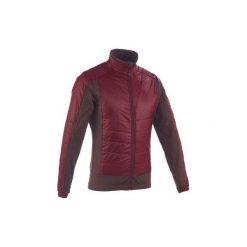 Kurtka polarowa SH900 X-WARM. Czerwone kurtki sportowe męskie QUECHUA, z polaru. W wyprzedaży za 99.99 zł.
