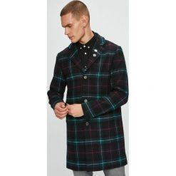 Jack & Jones - Płaszcz. Czarne płaszcze męskie Jack & Jones, z bawełny, klasyczne. W wyprzedaży za 339.90 zł.