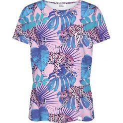 Colour Pleasure Koszulka damska CP-030 274 różowo-niebieska r. M/L. T-shirty damskie Colour Pleasure. Za 70.35 zł.