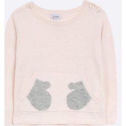 Blukids - Sweter dziecięcy 68-98 cm. Swetry dla dziewczynek Blukids, z bawełny, z okrągłym kołnierzem. W wyprzedaży za 49.90 zł.