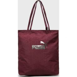 Puma - Torebka. Brązowe torby na ramię damskie Puma. Za 99.90 zł.