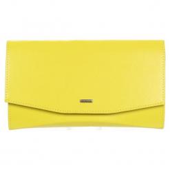 Grosso Bag Torebka Damska Zółty. Żółte torebki do ręki damskie Grosso Bag, ze skóry. Za 95.00 zł.