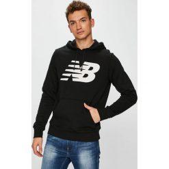 New Balance - Bluza. Szare bluzy męskie New Balance, z nadrukiem, z bawełny. Za 229.90 zł.