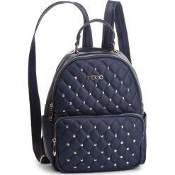 Plecak NOBO - NBAG-F1940-C013 Granatowy. Niebieskie plecaki damskie Nobo, ze skóry ekologicznej. W wyprzedaży za 169.00 zł.