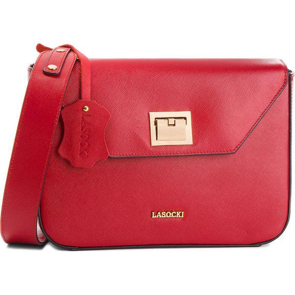 7422876b14a93 Wyprzedaż - czerwone torebki damskie marki Lasocki - Kolekcja wiosna 2019 -  Chillizet.pl
