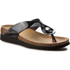 Japonki SCHOLL - Kenna F26075 1004 350 Black. Czarne klapki damskie Scholl, w paski, ze skóry ekologicznej. Za 160.00 zł.