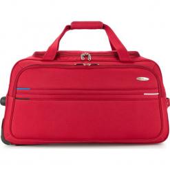 Torba podróżna V25-10-479-30. Czerwone torby podróżne damskie Wittchen, z materiału. Za 259.00 zł.