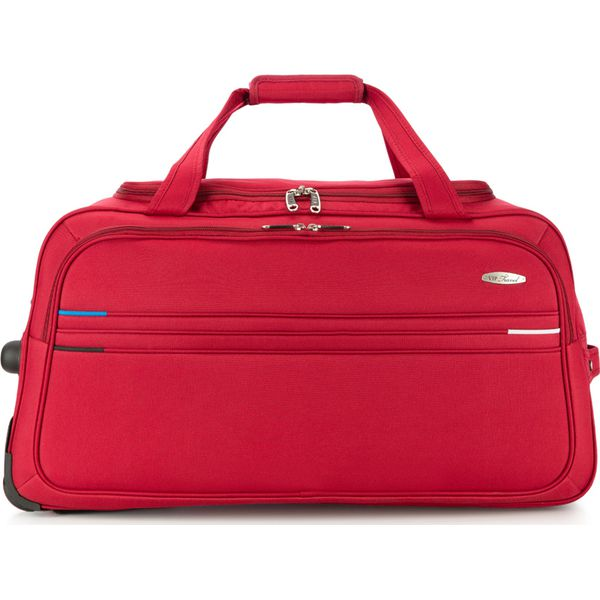 668e094e26f65 Torba podróżna V25-10-479-30 - Czerwone torby podróżne damskie marki ...