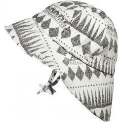 Kapelusz przeciwsłoneczny Graphic Devotion, 0-6 m-cy biało-czarny. Białe czapki dla dzieci Elodie Details. Za 98.44 zł.