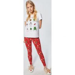 Piżama - Czerwony. Czerwone piżamy damskie Cropp. Za 79.99 zł.