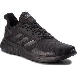 Buty adidas - Duramo 9 B96578 Cblack/Cblack/Cblack. Czarne buty sportowe męskie Adidas, z materiału. W wyprzedaży za 189.00 zł.