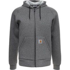 Carhartt WIP CARLUX HOODED Bluza rozpinana dark grey heather. Kardigany męskie Carhartt WIP, z bawełny. Za 509.00 zł.
