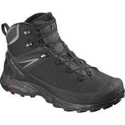 Salomon Buty Męskie X Ultra Mid Winter Cs Wp Black/Phantom/Quiet Shade 44.7. Czarne buty sportowe męskie Salomon, na zimę. Za 629.00 zł.