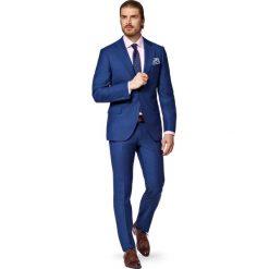 Garnitur Granatowy Raveno. Niebieskie garnitury męskie LANCERTO, z tkaniny. Za 1,999.90 zł.