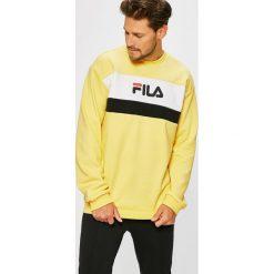 Fila - Bluza. Brązowe bluzy męskie Fila, z nadrukiem, z bawełny. W wyprzedaży za 279.90 zł.