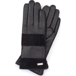 Rękawiczki damskie 39-6-576-1. Brązowe rękawiczki damskie Wittchen, z polaru. Za 195.00 zł.