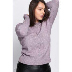 Ciemnofioletowy Sweter Reveal of My Heart. Szare swetry damskie Born2be, z okrągłym kołnierzem. Za 69.99 zł.