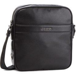 Saszetka GUESS - HM6536 POL84  BLA. Czarne saszetki męskie Guess, ze skóry ekologicznej, młodzieżowe. Za 349.00 zł.