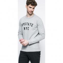 Selected - Bluza. Szare bluzy męskie Selected, z nadrukiem, z bawełny. W wyprzedaży za 129.90 zł.