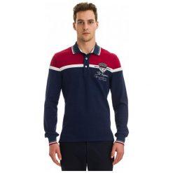 Galvanni Koszulka Polo Męska Harau L, Ciemnoniebieski. Czarne bluzki z długim rękawem męskie Galvanni, z materiału, z długim rękawem. W wyprzedaży za 269.00 zł.