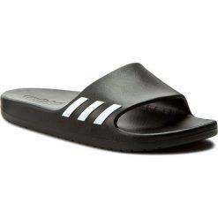 Klapki adidas - Aqualette W BA8762 Cblack/Ftwwht/Cblack. Czarne klapki damskie Adidas, z tworzywa sztucznego. Za 89.95 zł.