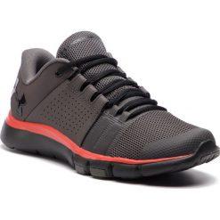 Buty UNDER ARMOUR - Ua Strive 7 Nm 3020750-100 Gry. Szare buty sportowe męskie Under Armour, z materiału. W wyprzedaży za 209.00 zł.