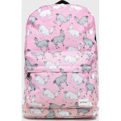 Spiral - Plecak. Różowe plecaki damskie Spiral. W wyprzedaży za 99.90 zł.