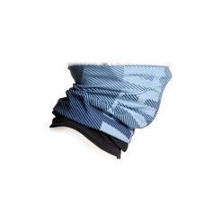 Komin na szyję na rower ROADRACING 500 zimowy. Niebieskie szaliki i chusty damskie B'TWIN, na zimę, z materiału. Za 24.99 zł.
