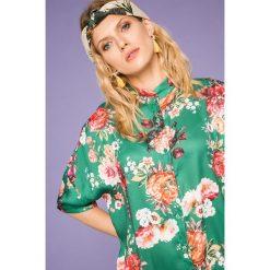 Medicine - Koszula Cute and Bleak. Szare koszule damskie MEDICINE, z poliesteru, z krótkim rękawem. W wyprzedaży za 59.90 zł.