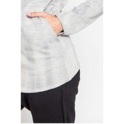 Adidas Performance - Bluza. Szare bluzy damskie adidas Performance, z bawełny. W wyprzedaży za 319.90 zł.