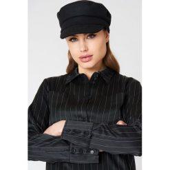 NA-KD Accessories Czapka w stylu marynarskim - Black. Czarne czapki i kapelusze damskie NA-KD Accessories, z materiału. Za 80.95 zł.