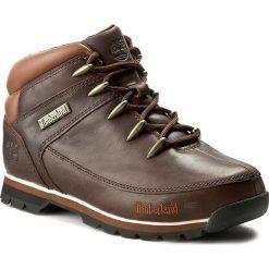 Trapery TIMBERLAND - Euro Sprint 6831R/TB06831R2421 Dark Brown. Brązowe śniegowce i trapery męskie Timberland, z gumy. W wyprzedaży za 469.00 zł.