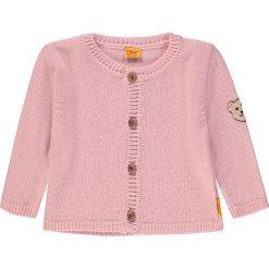 Kardigan w kolorze jasnoróżowym. Swetry dla dziewczynek marki bonprix. W wyprzedaży za 115.95 zł.