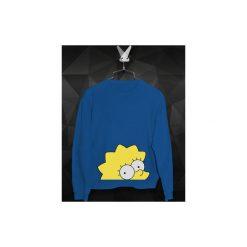 Bluza Przyczajona Lisa Damska. Niebieskie bluzy damskie Failfake, z bawełny. Za 160.00 zł.