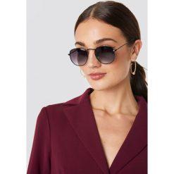 NA-KD Accessories Okulary przeciwsłoneczne Rounded Square - Black. Czarne okulary przeciwsłoneczne damskie NA-KD Accessories. Za 52.95 zł.