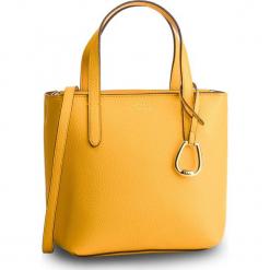 Torebka LAUREN RALPH LAUREN - 431730284008  Sunflower/Lauren Tan. Żółte torebki do ręki damskie Lauren Ralph Lauren, ze skóry ekologicznej. Za 649.00 zł.