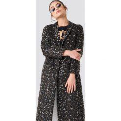 NA-KD Trend Wzorzysty płaszcz - Multicolor. Czarne płaszcze damskie NA-KD Trend, z poliesteru. Za 364.95 zł.