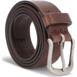 Pasek Męski WRANGLER - Authentic Belt W0B62U185 85 Brown. Brązowe paski damskie Wrangler, w paski, ze skóry. Za 129.00 zł.