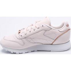 Reebok Classic - Buty Cl Lthr Hw. Szare obuwie sportowe damskie Reebok Classic, z gumy. W wyprzedaży za 299.90 zł.