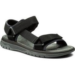 Sandały CLARKS - Balta Reef 261336577 Black. Czarne sandały męskie Clarks, z materiału. W wyprzedaży za 159.00 zł.