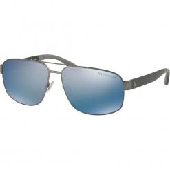 Polo Ralph Lauren - Okulary. Brązowe okulary przeciwsłoneczne męskie Polo Ralph Lauren. Za 649.90 zł.