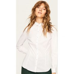 66de6b5680 Elegancka koszula - Biały. Koszule damskie marki Reserved. Za 119.99 zł.