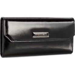 Duży Portfel Damski MONNARI - PUR1080-020 Black. Czarne portfele damskie Monnari, ze skóry. W wyprzedaży za 129.00 zł.
