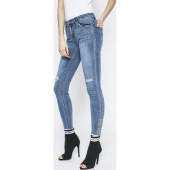 Answear - Jeansy Sporty Fusion. Niebieskie jeansy damskie ANSWEAR. W wyprzedaży za 99.90 zł.