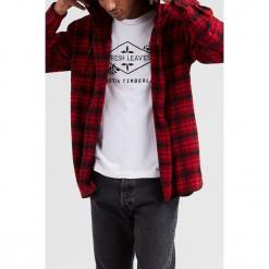 Levi's - Koszula Justin Timberlake. Brązowe koszule męskie Levi's, w kratkę, z materiału, z długim rękawem. Za 369.90 zł.